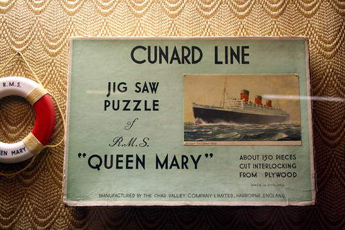 Queen Mary - Old Jigsaw | by Miss Shari