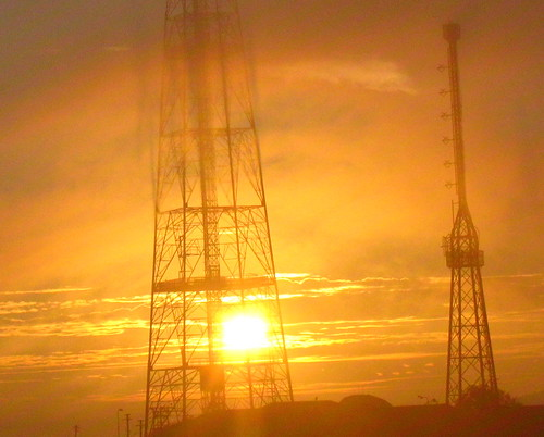 morning india mist silhouette sunrise power fort towers communication maharashtra sinhagad sahyadri