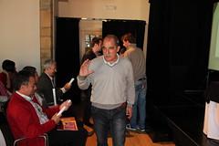 Un momento de la conferencia ofrecida por Miguel Santos en la VII. edición de la Jornadas de Desarollo Local 2011, de Ermua