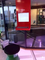 Högdalens bibliotek Pressdisplay dator