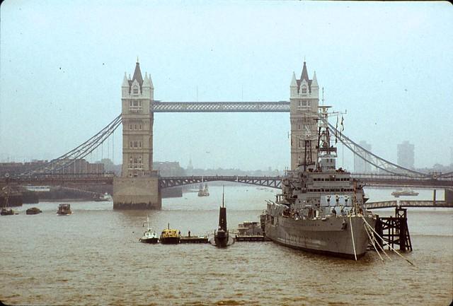 Pool of London June 1979