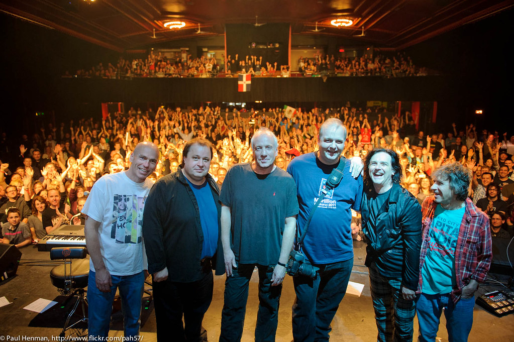 Me, on stage with Marillion! by Paul Henman