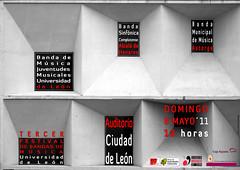 "TERCER FESTIVAL DE BANDAS DE MÚSICA ""UNIVERSIDAD DE LEÓN"" - DOMINGO 08.05.11"