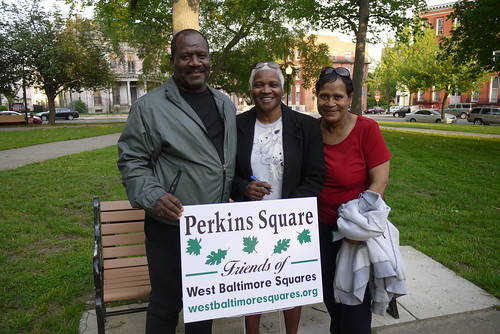 Heritage Crossing residents at the West Baltimore Squares Spring Celebration | by West Baltimore Squares