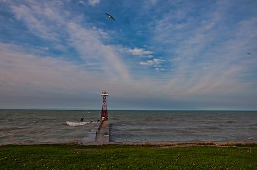 lighthouse chicago nikon lakemichigan banias fosteravebeach d90