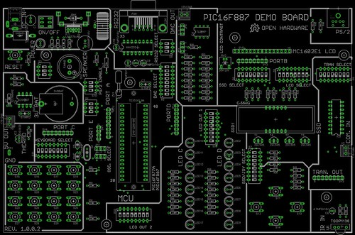 PIC16F877A/PIC16F887 Development Board | by Dilshan R Jayakody