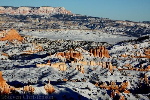 Snow Flocked Bryce Canyon [IMG_151594] | by Steven Christenson