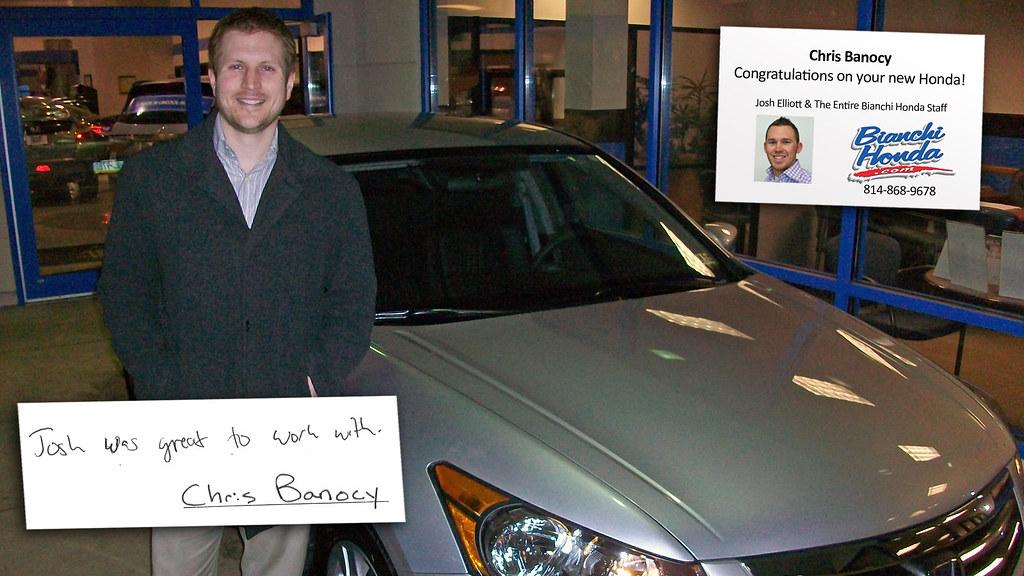 Car Dealerships Erie Pa >> Chris Banocy Bianchi Honda In Erie Pa 16509 814 868 9678