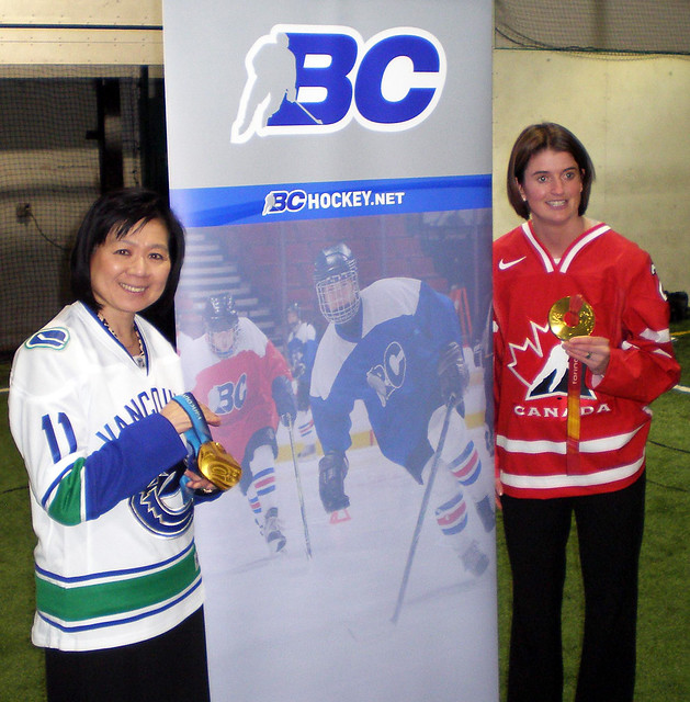 Minister Chong supports female hockey