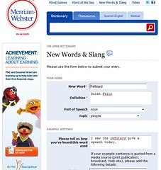 Get Refutard added to Webster's dictionary