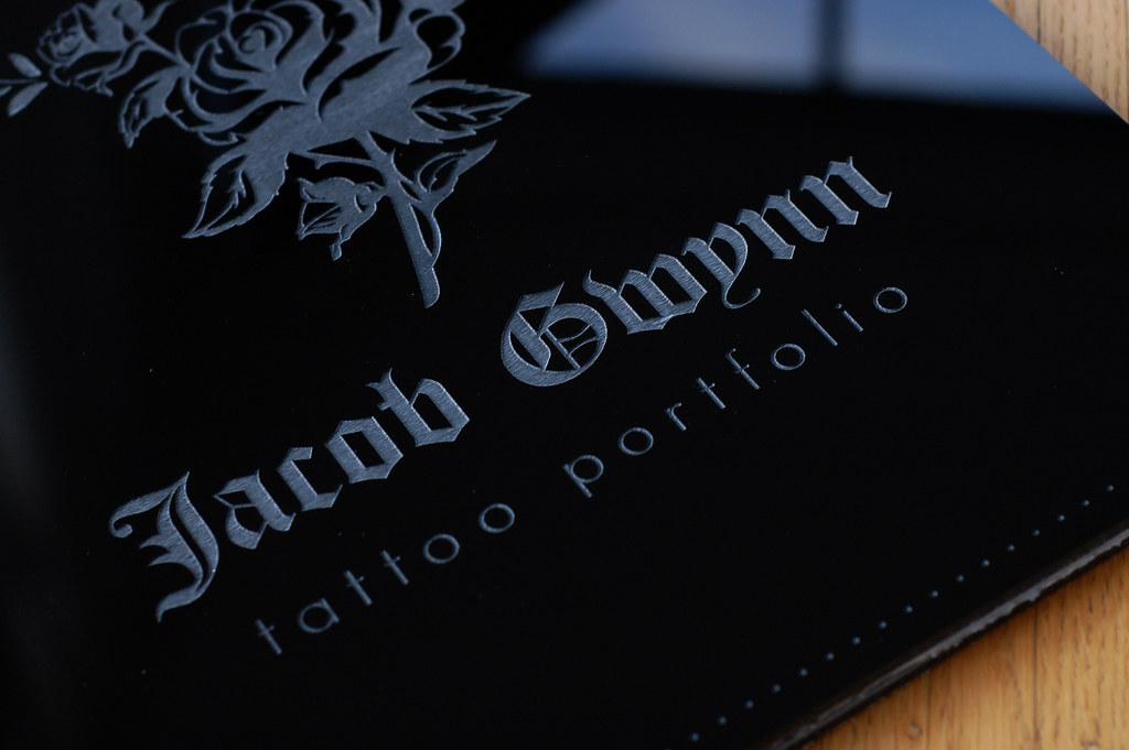 Custom tattoo artist portfolio book | Klo Portfolios | Flickr