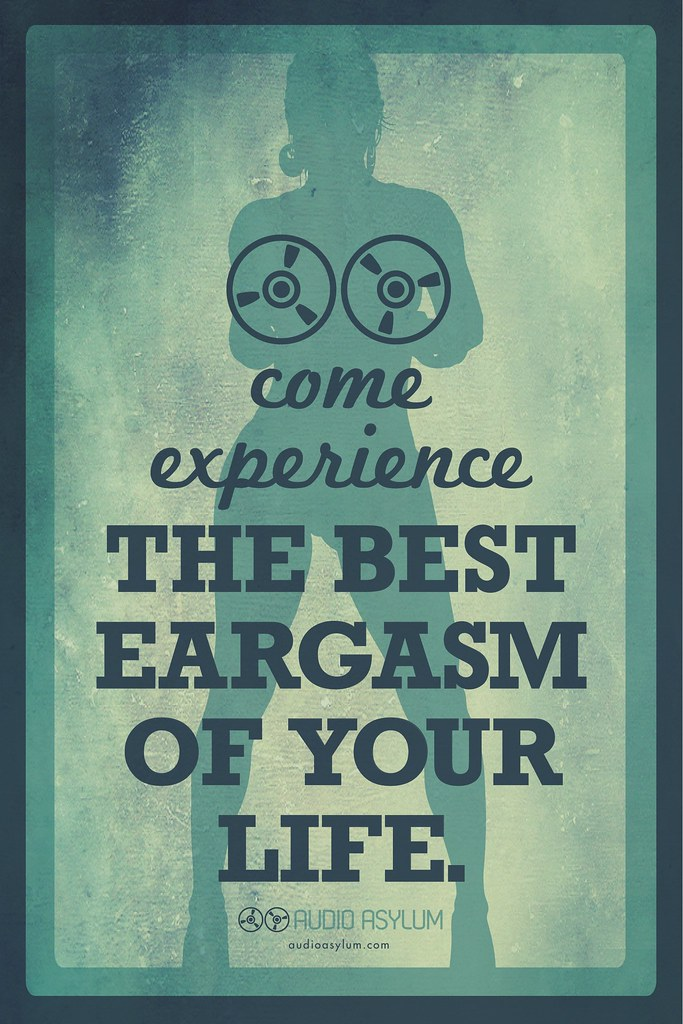 Eargasm | Audio Asylum is a fictional store I created, that