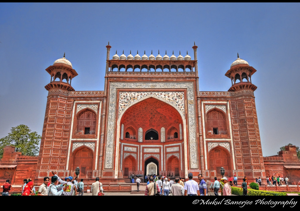 The Royal Gate, Taj Mahal, Agra | The great gate (darwaza-i