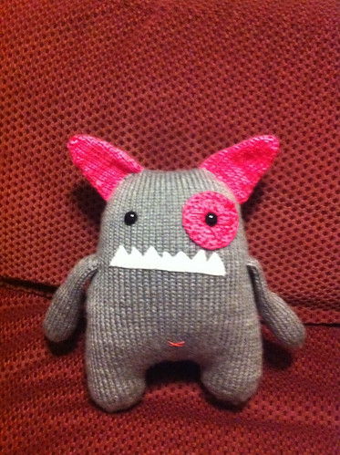 Finished Knit Monster | by deinera