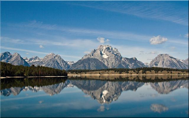 Mount Moran Reflected