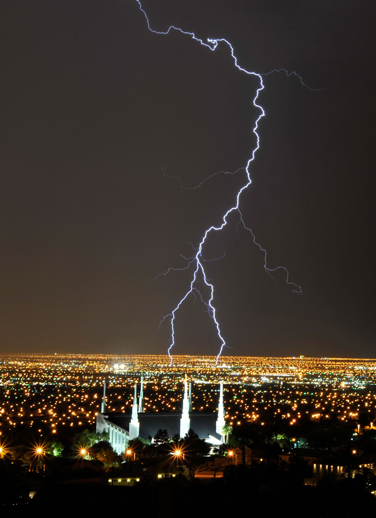Temple Lightning