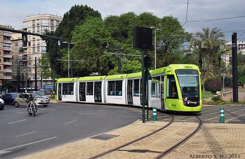 Tranvía de Murcia, ultimando la puesta a punto. | by MΣTRØMURCIΔ
