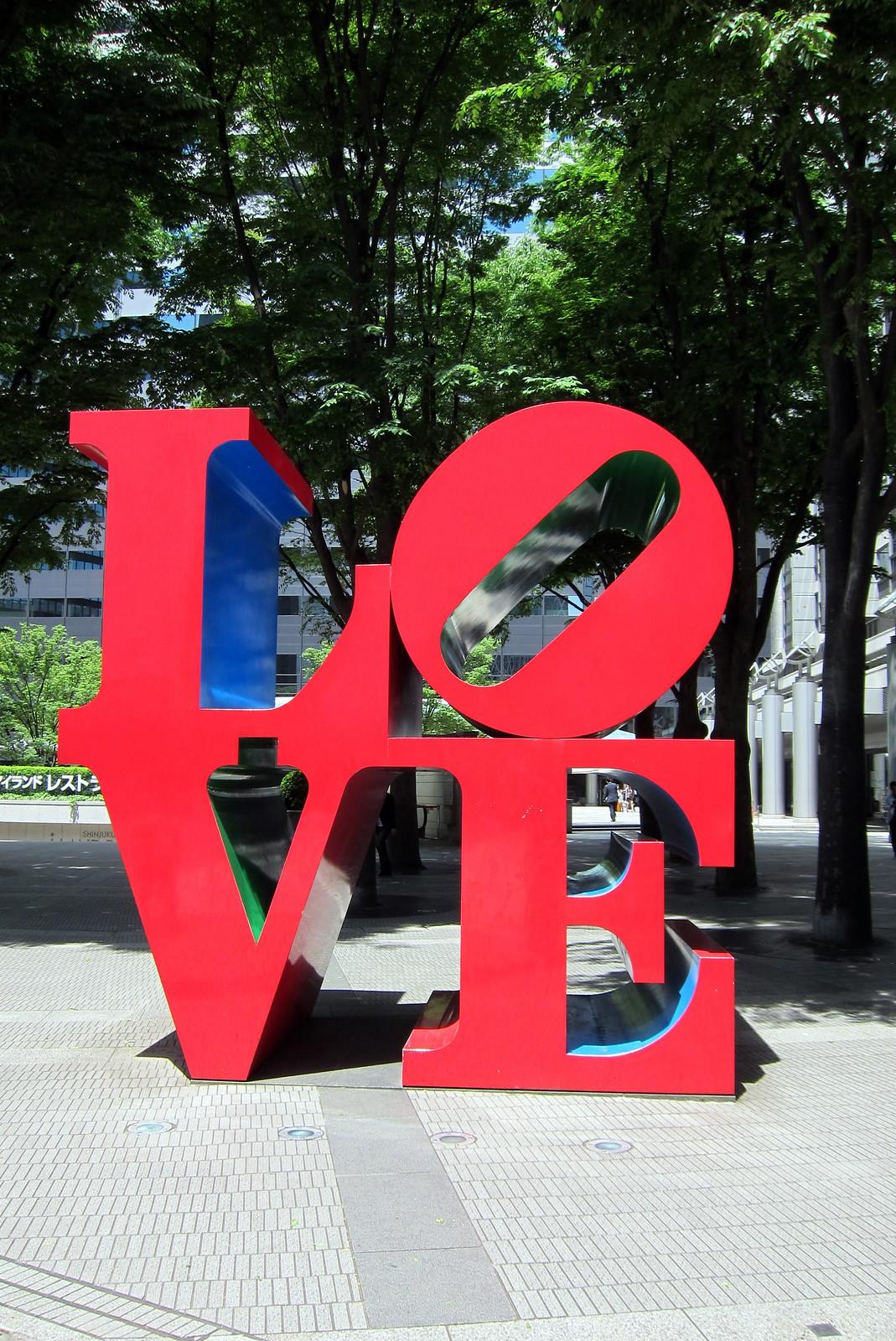 Tokyo - Nishi-Shinjuku: LOVE