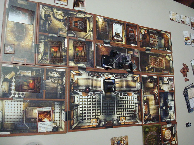 Best Cooperative Board Games Mansions of Madness Second Edition Play