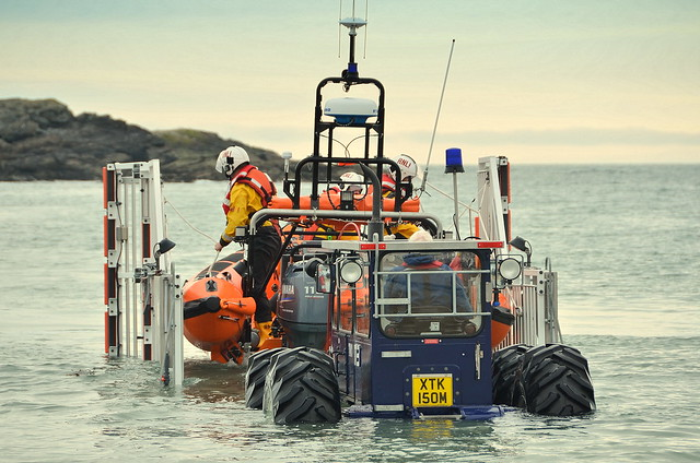 RNLI Boat At Trearddur Bay Holy Island Anglesey