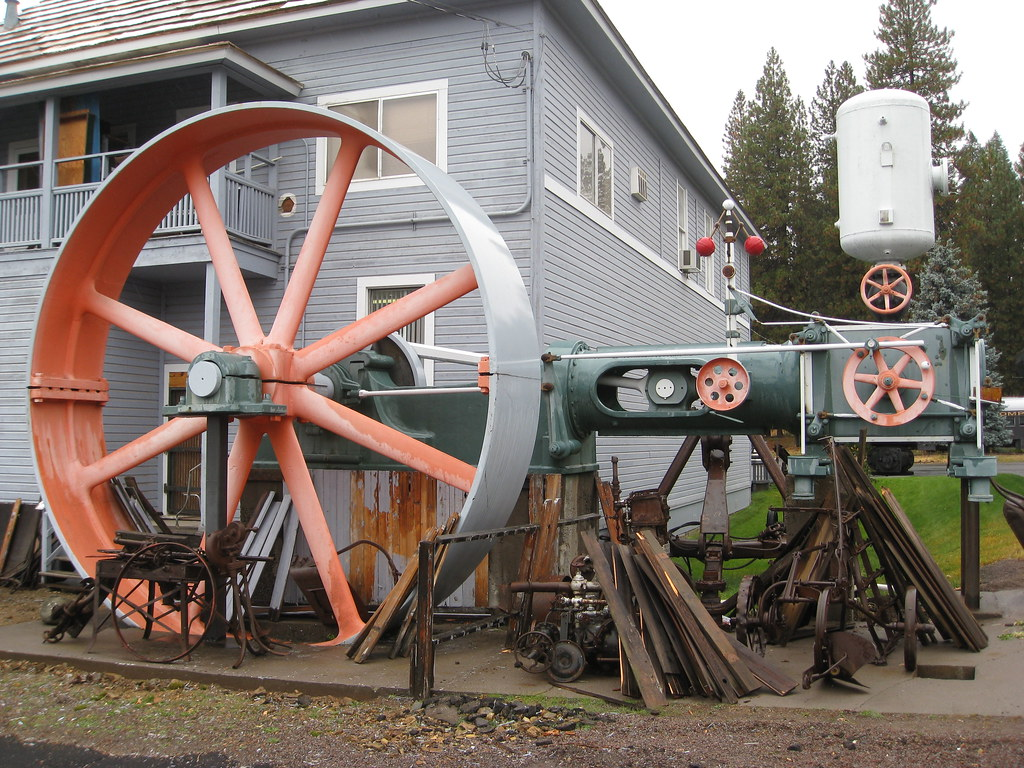 Allis Chalmers Steam Engine