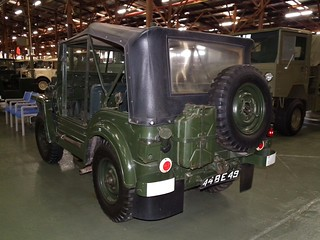 1955 Austin Champ - British Army