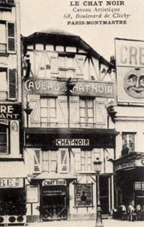 Le cabaret satirique Chat noir
