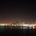 Queen Mary - View of Long Beach from Promenade Deck (Oops, No Tripod)