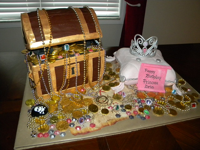Treasure Chest and Princess Pillow