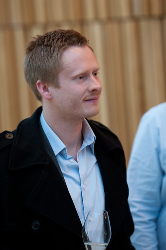 Aksel Jermstand from Storyline Studios at speakers dinner | by digistorytellin