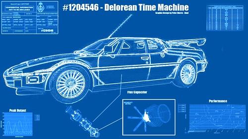 Delorean Blueprint | by Apoclyofable