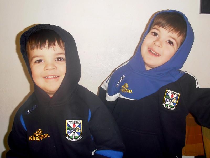 New Cavan football hoodies