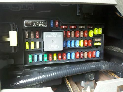 ford escape hybrid interior fuse box sync usb reset