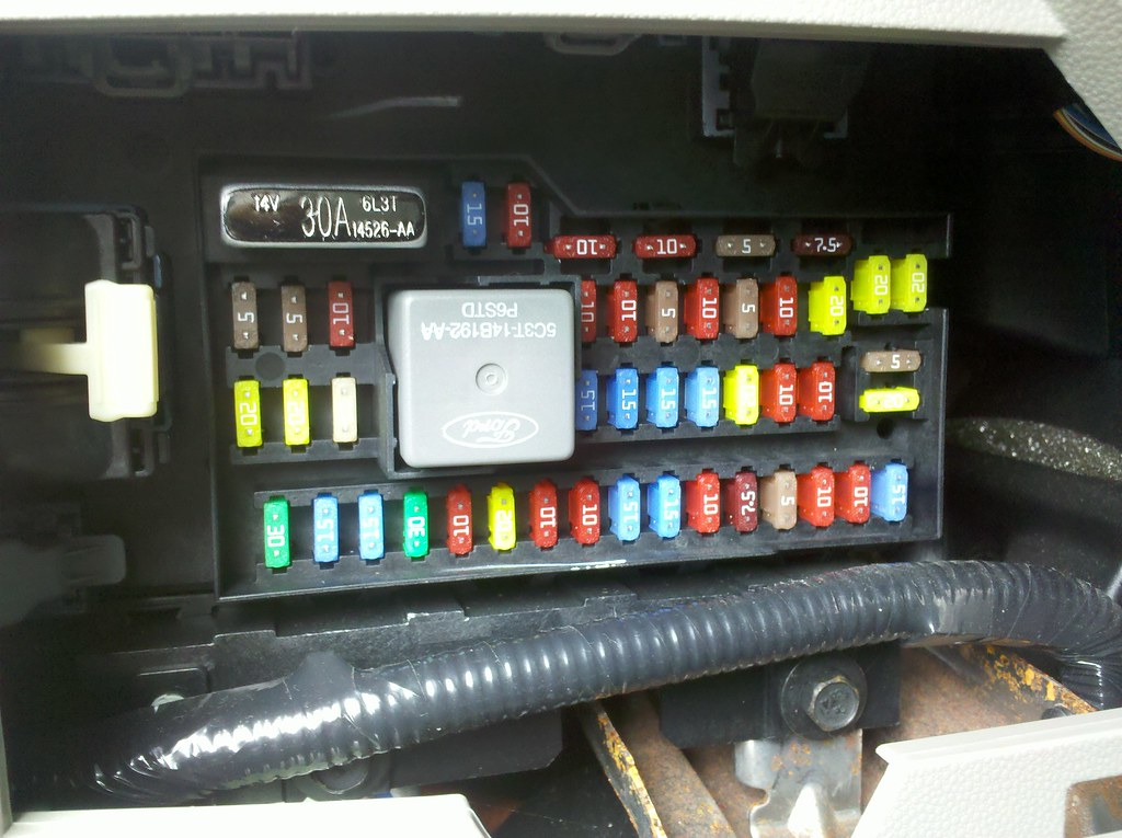Ford Escape Hybrid Fuse Box