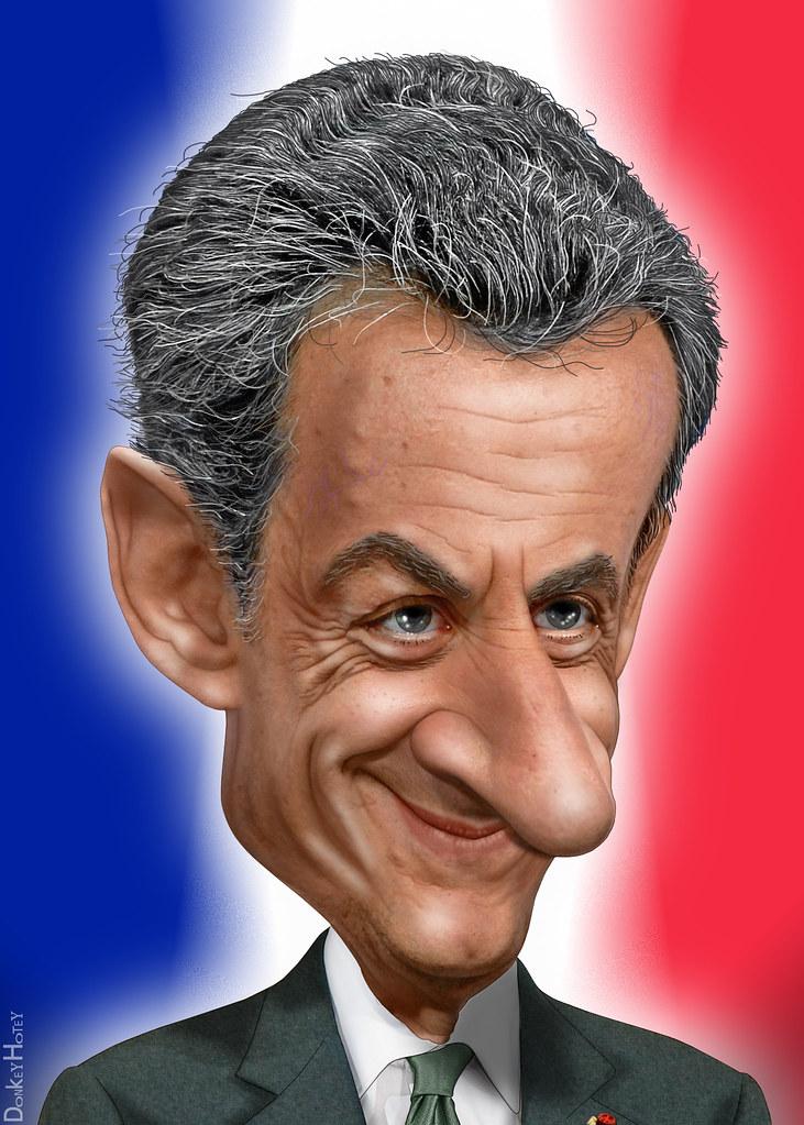 Nicolas Sarkozy Caricature Nicolas Paul Stephane Sarkozy Flickr