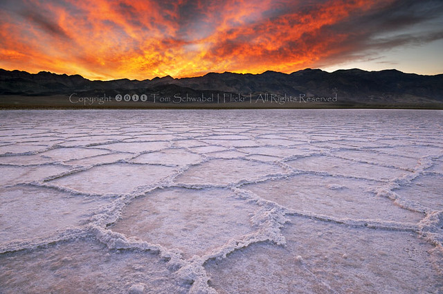 Badwater on Fire
