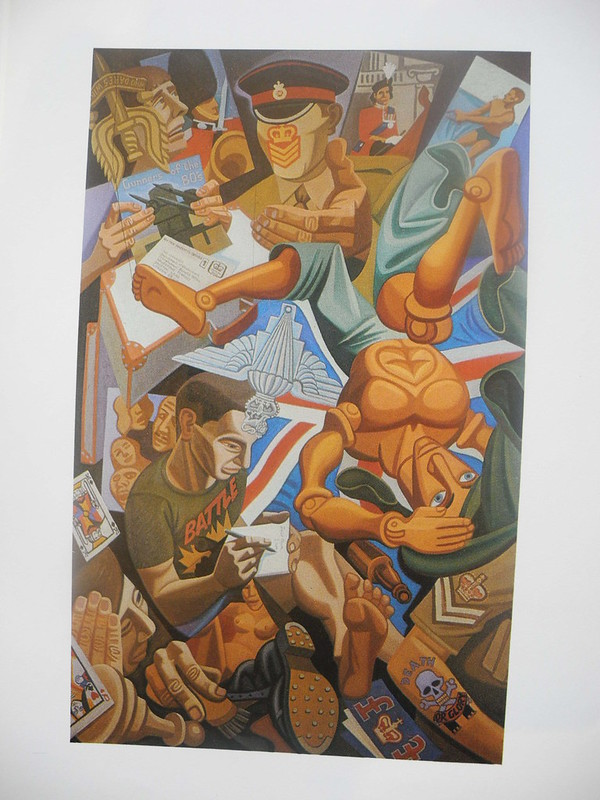 Army RecruitmentTriptych 1981 Imperial War Museum 1