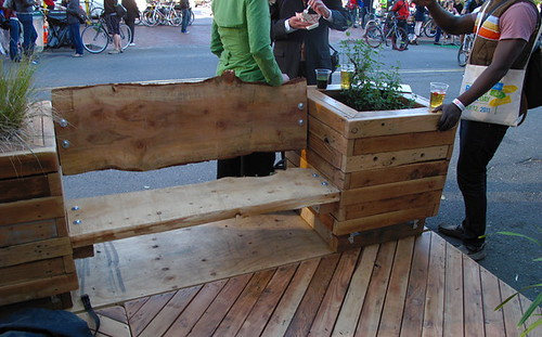 btwd2011oak parklet-seat | by Jym Dyer