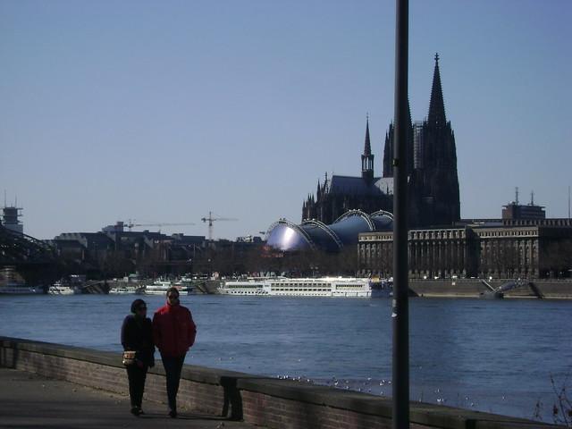 Paseo, Rheinpark, Colonia, Alemania/Promenade, Cologne, Germany' 11 - www.meEncantaViajar.com