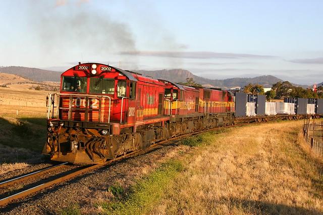 Trains In Tasmania - 2002 Rogerville
