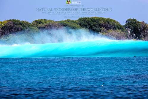 MALDIVES MALE NATURAL WONDERDS OF THE WORLD TOUR BLUE WAVES AS SEEN FROM DONVELI RESORT & SPA IMG_1595 AWFJ | by SDB Fine Art Travel of 2 Decades to 555+ Places Ph