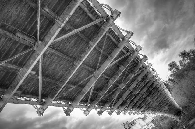 244/1000 - Underside of Queens Park Bridge