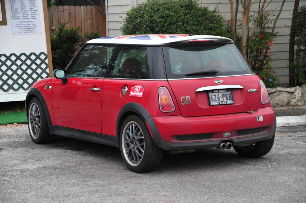 Mini Cooper S With Union Jack Flag Roof Graphic Gb Chrome Flickr