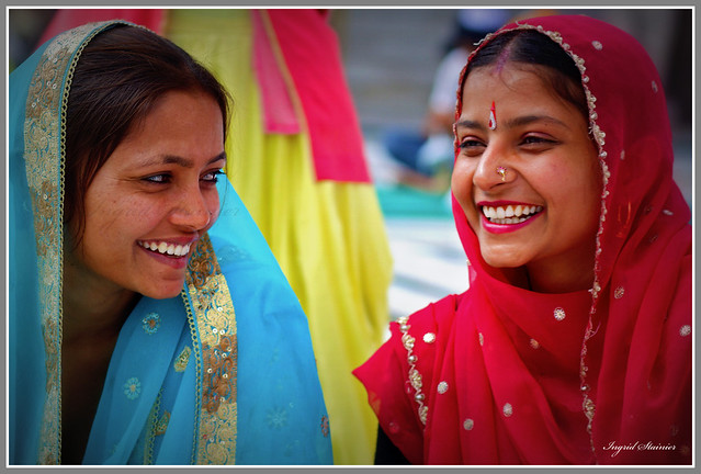 Smiles of the Golden Temple, Amritsar, India