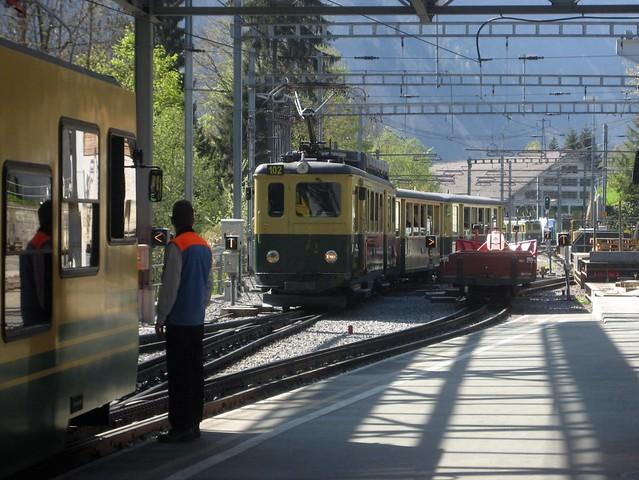 Wengernalpbahn  Lauterbrunnen Switzerland