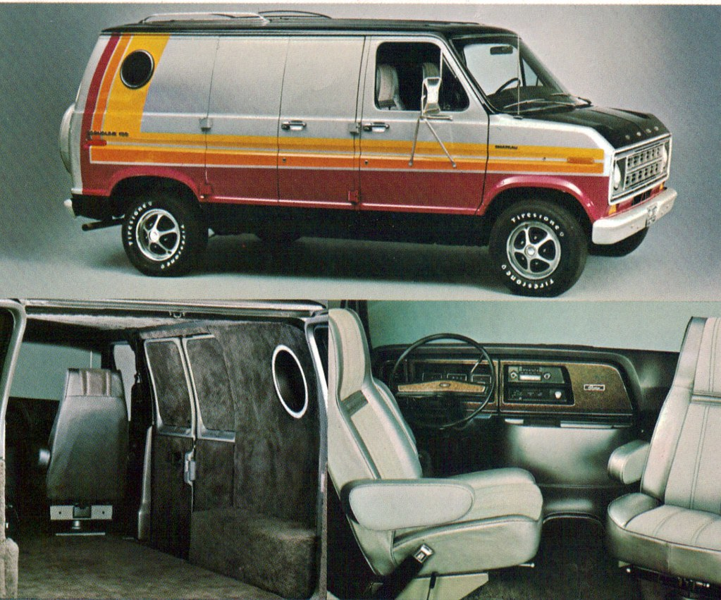 1976 Ford E-150 Econoline Cruising Van | coconv | Flickr