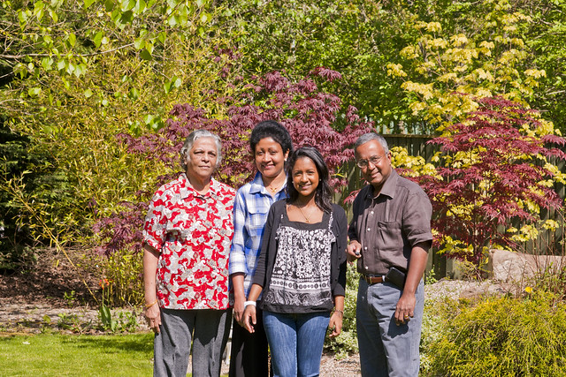 Miriam, Gizzy,  Anna & Ranji