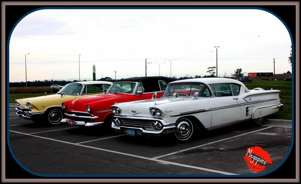 1958 Chev Impala 1953 Ford Customline Convertible 1959 Flickr