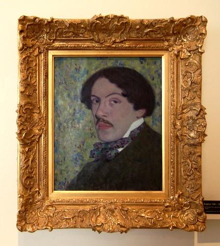 (Eugeniusz) Eugène ZAK (1884-1926) - Portrait du peintre Leopold GOTTLIEB, 1906 | by Heinz Theuerkauf