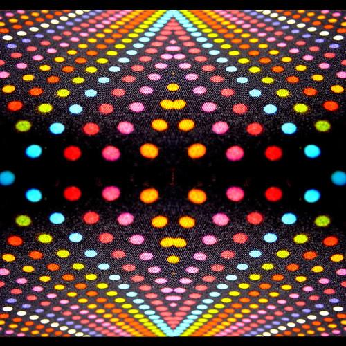 abstract mosaic diagonal dots odc1
